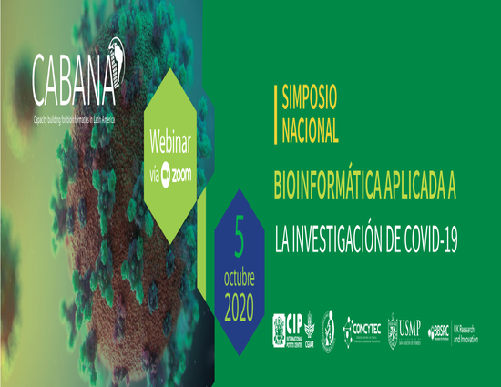 """National Symposium: """"Bioinformatics applied to COVID-19 research"""