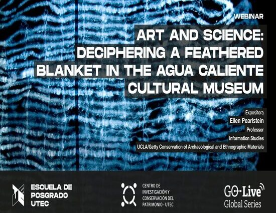 Art and science: deciphering a feathered blanket in the Agua Caliente Cultural Museum