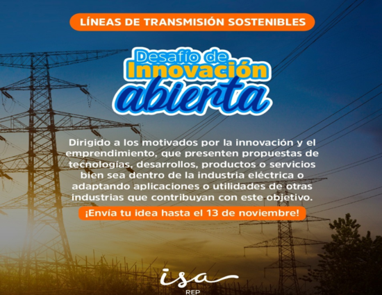 "Open Innovation Challenge ""Sustainable Transmission Lines"""