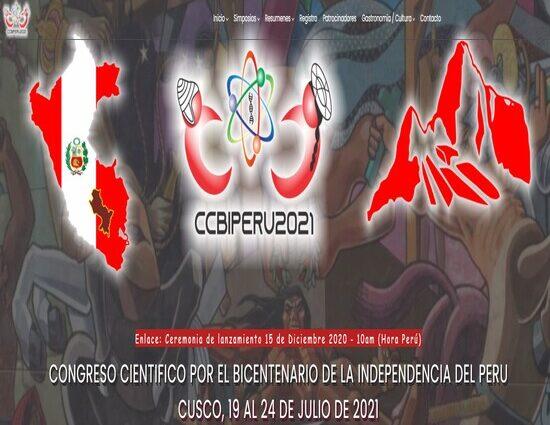 Bicentennial Scientific Congress CCBIPerú2021